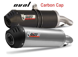 Oval Carbon Cap